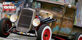 Picape Hot Rod