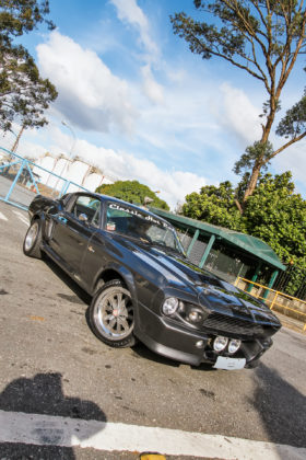 Réplica Ford Mustang Eleanor 1968
